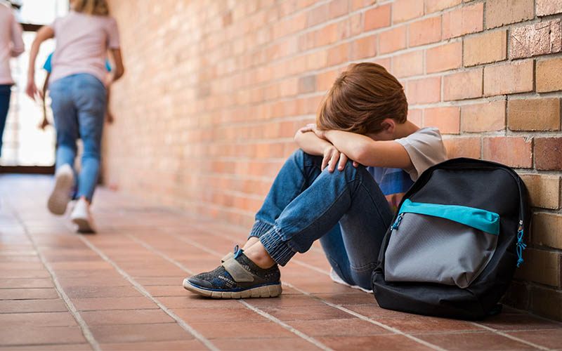 Social anxiety in children. Ways to help them cope.
