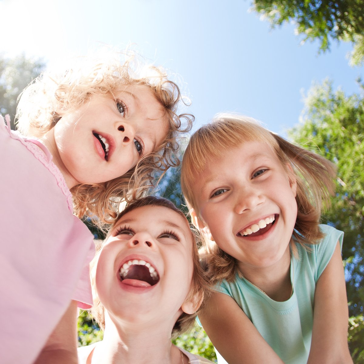 Children feeling better after EMDR therapy.