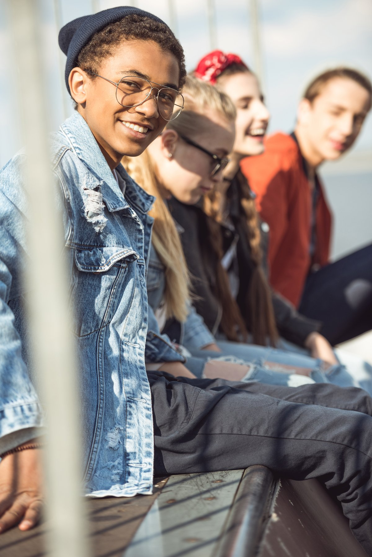 Teens receiving therapy for depression, New City, NY